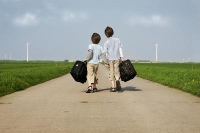child walking away - photo #26