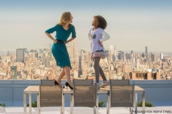 Annie: on top of the world, and of it?