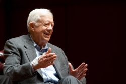 Jimmy Carter, at 90, on small churches, Bob Dylan and same-sex marriage