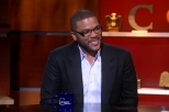 Tyler Perry, Stephen Colbert and giggling prayer