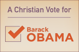 A Christian vote for Obama