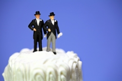 "Uncomfortable baking a cake for a gay wedding? ""Bake for them two"""