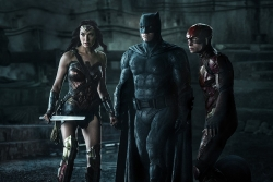 Justice League: Wonder Woman Amidst the Lost Boys