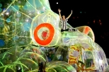 The heavenly oddness of the Olympics' closing ceremonies